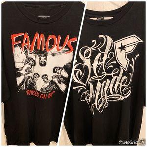 Famous Stars & Straps t shirts